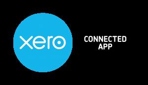 xero logo with connected app logo